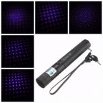 405nm 303 Blue-violet Purple Laser Pointer 18650 Charger Set