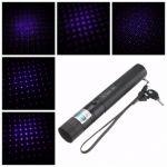 405nm 303 Blue-violet Purple Laser Pointer 18650 Charger Set