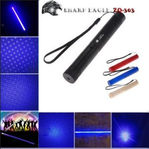 SHARP EAGLE ZQ-303 445nm High Power Blue Beam Laser Pointer And Laser Sword