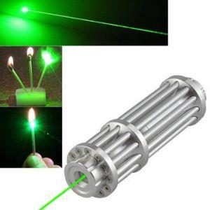 U'King ZQ-12L 532nm Green Light Power Beam Burning Laser Pointer Pen Single