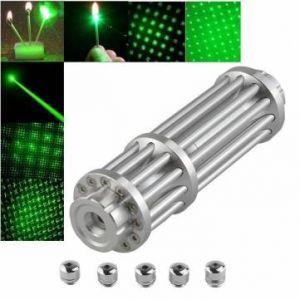 U'King ZQ-12L 532nm Green Light Power Beam Cigarette Burning Laser Pointer Pen Suit