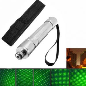 532nm Powerful Visible Beam Green Light Laser Pointer With Cloth Cover