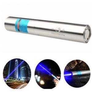 U King ZQ-J11 473nm Blue High Power Beam Buring Laser Flashlight With EU Charger