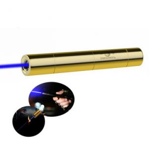 U King ZQ-15B 445nm Blue Light Powerful Buring Laser Flashlight With US Charger