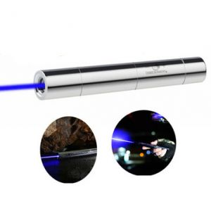 U King ZQ-15B 445nm Blue Powerful Buring Laser Flashlight With EU Charger