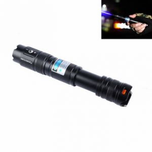 U King ZQ-J16 450nm Blue Powerful Buring Laser Flashlight Suit US Charger