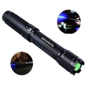 U King ZQ-J18 450nm Blue Light Powerful Buring Laser Flashlight Suit EU Charger