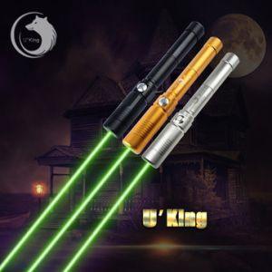 U King ZQ-J9L 532nm Green High Power Buring Laser Flashlight Suit EU Charger