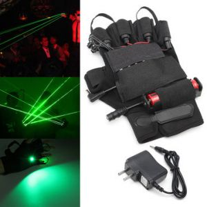 532nm Green Laser Glove Visible Beam Stage Lighting Show For Right Hand