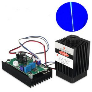 450nm 3500mW Blue Laser Module With 12V TTL Modulation For DIY Cutter Carving