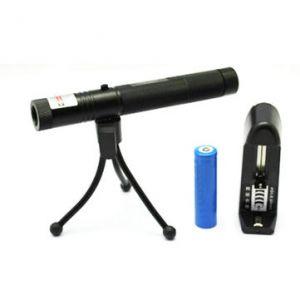 LT-HJG0086 Zoom 532nm Green Laser Pointer Black 1*18650(1mw/5mw)