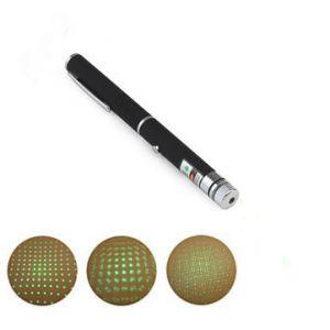 Pen Shape 2-in-1 5mW 532nm Green Light Laser Pointer+AAA