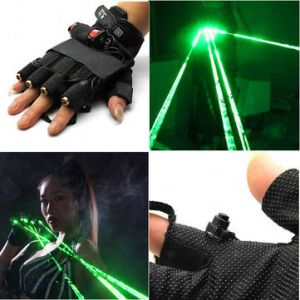 LT-xe532 532nm Gloves Green Laser Gloves 1mw/5mw 1x18650