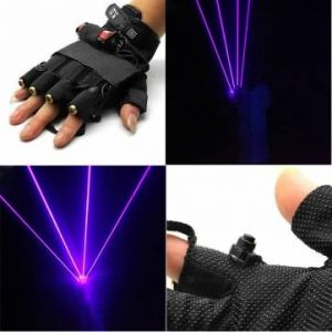 LT-xe405 405nm Glove Purple Laser Gloves 1mw/2mw/3mw 1x18650