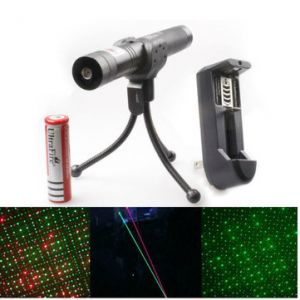 Adjustable 532nm 650nm Green Red Beam Laser Pointer Suit(1mw,5mw)
