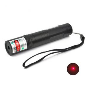 LT-850 650nm Red Light Laser Pointer Flashlight 1*16340 1mw/4mw/5mw
