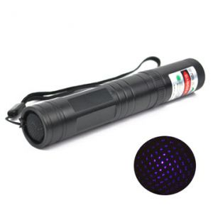 LT-851 405nm Multi-Point Purple Star Laser Pointer Flashlight 1mw/5mw
