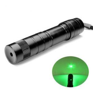 LT-08881 Adjustable Burning 5mw 532nm Green Laser Pointer 1*16340