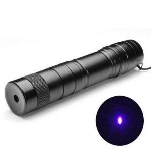 LT-08883 Adjustable Burning 5mw 405nm Purple Laser Pointer 1*16340