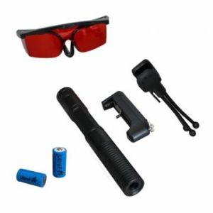 LT-0885 532nm Burning Green Laser Pointer Suit With Glasses