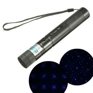 303 405nm Purple Light High Power Adjustable Laser Pointer +Keys