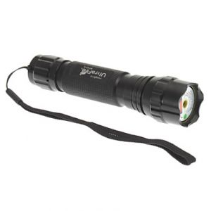 501 Green Laser Pointer with Batteries (1x16340,532nm,5mw,Black)