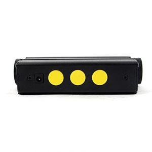 LT-0885 Double Heads Light Laser Sword Green Laser Pointer(5mw,532nm,1x18650)