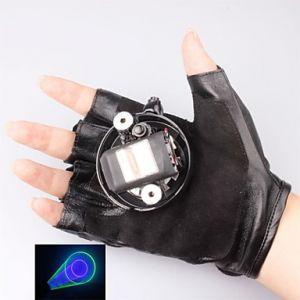 LT-405-532 Glove Green and Purple Laser Pointer(2MW,532nm,1xLithium Battery,Black)