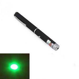 LT-011 Pen Shape 1-Pattern Green Light Laser Pointer(1MW.532nm.2XAAA.Black)