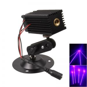 405 ZC04 5mW Purple Laser Module for Laser Positioning Laser Range Measurement Black