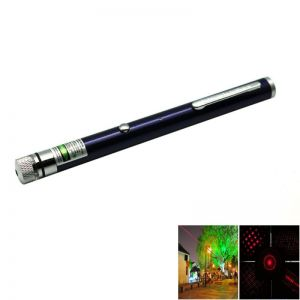 5-in-1 5mw 650nm Red Laser Beam USB Laser Pointer Pen with USB Cable and Laser Heads Purple
