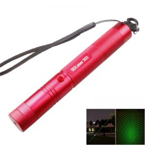 303 5mw 532nm Green Beam Light Adjustable Light Styles Laser Pointer Pen with Bracket Red