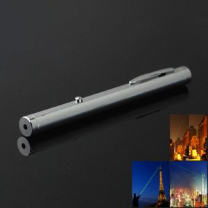 5mw 532nm Green Light Single Dot Light Style Pen Style All-steel Laser Pointer Pen Bright Metal Color