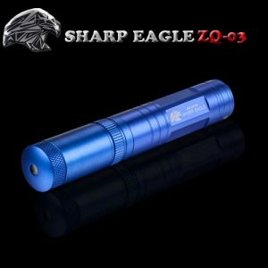 SHARP EAGLE ZQ-03 5mW 532nm Starry Sky Style Green Light Waterproof Aluminum Laser Sword Blue