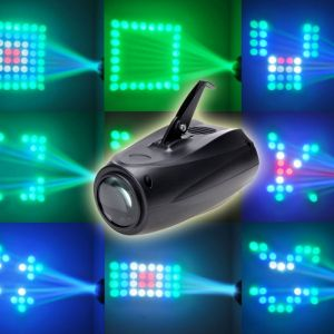 30W Multicolor Light Dynamic Lighting Effect Smart LED Stage Lamp Black