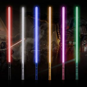Newfashioned No Sound Effect Star Wars Lightsaber Red Light Laser Sword Black