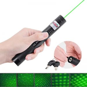 532nm 303 Green Laser Pointer With  Lazer Starry Head