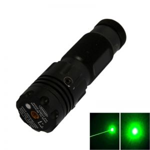 5mW 532nm Hat-shape Green Laser Sight with Gun Mount Black ZT-H08 (1*16340)