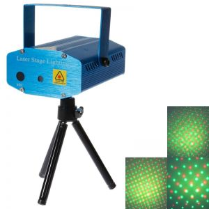 LT-G Stage Lighting LED Red + Green Colorful Sound Control / Automatic Laser Stage Light
