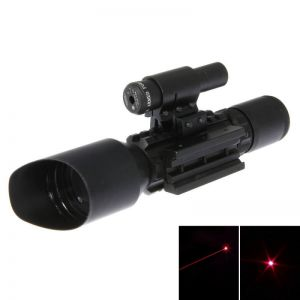LT-M9C 5MW 532nm Red Laser Sight and Flashlight Combo Black